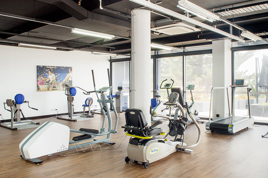 Sargood on Collaroy facilities include a fully accessible gym