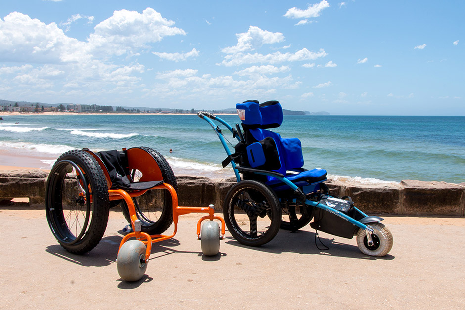 Sargood-Beach access wheelchairs