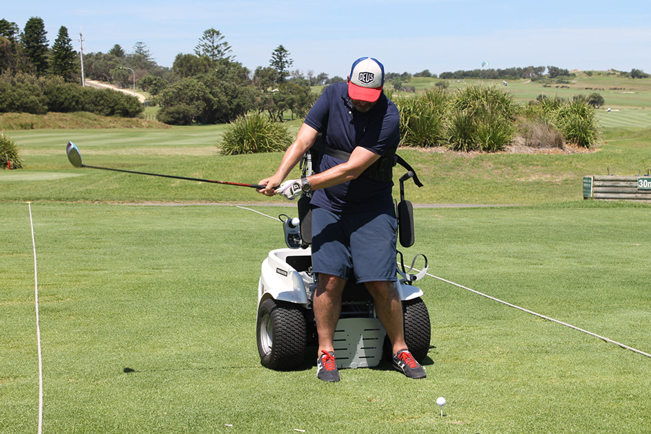 Sargood on Collaroy guest playing golf at Long Reef Golf Club