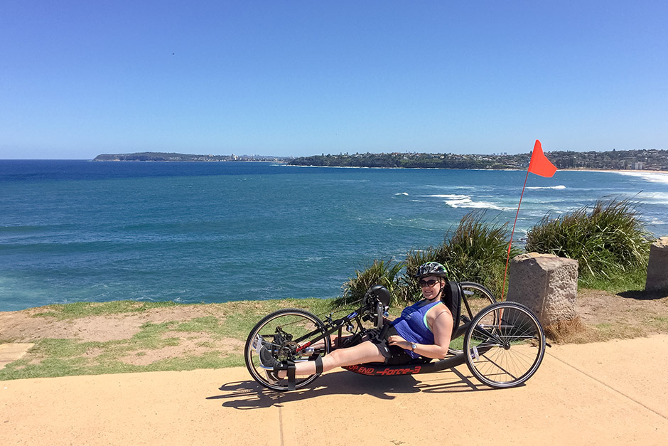 Sargood on Collaroy guest cycling